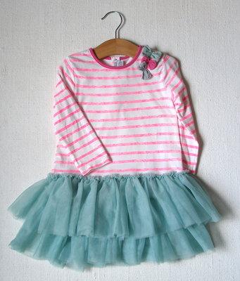 Платье для девочки 18-24 мес подарок