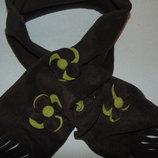 Гламурный флисовый шарф.Мега выбор обуви и одежды