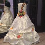 карнавальное платье Золотая Осень -ПРОКАТ