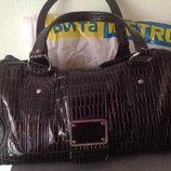Итальянская лаковая сумка